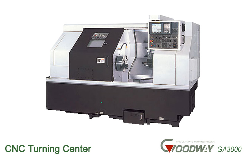 CNC Turning Center Goodway The Ultimate Turning Power GA3000