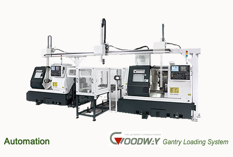 Automation Goodway The Ultimate Turning Power Gantry Loading System